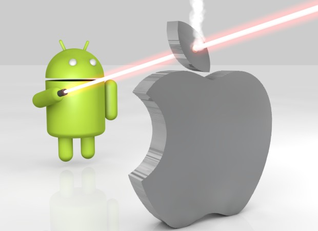 Android vs Apple 14