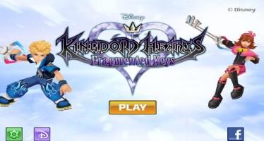 Kingdom Hearts: Fragmented Keys, le immagini del gioco Android cancellato