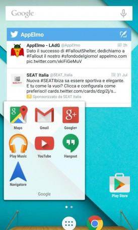 Blinq Lollipop Launcher Android 1