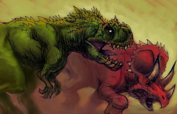 Sfondi dinosauri HD 1
