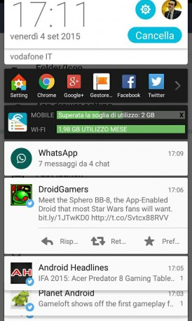 LINE Launcher Android 5