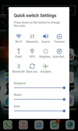LINE Launcher Android 8