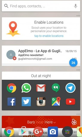 Scout Launcher Android 7