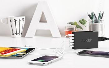 Amazon, Aukey ed EasyAcc scontano batterie esterne, caricabatterie e speaker: disponibilità limitata