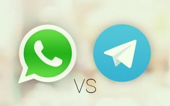 WhatsApp vs Telegram: i 5 pregi di WhatsApp