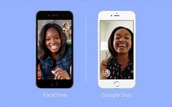 #Applefun: Duo vs FaceTime, il confronto (sulla carta)