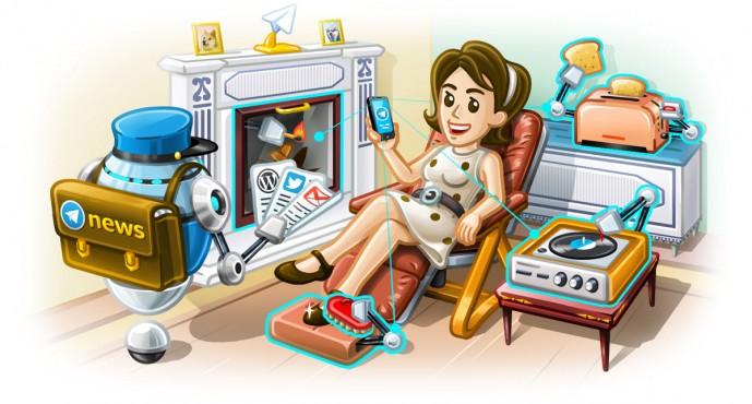 Telegram 3.15: introduzione di IFTTT su Telegram, video player fluttuante e tanto altro!