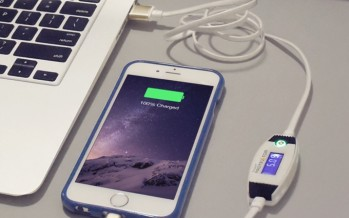 Smart Protektor, il primo cavo con amperometro che ricarica sia smartphone che iPhone – Il Mercoledì di Kickstarter