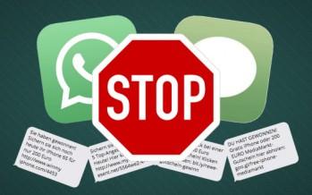 WhatsApp ha brevettato un sistema di controllo anti-spam dei messaggi