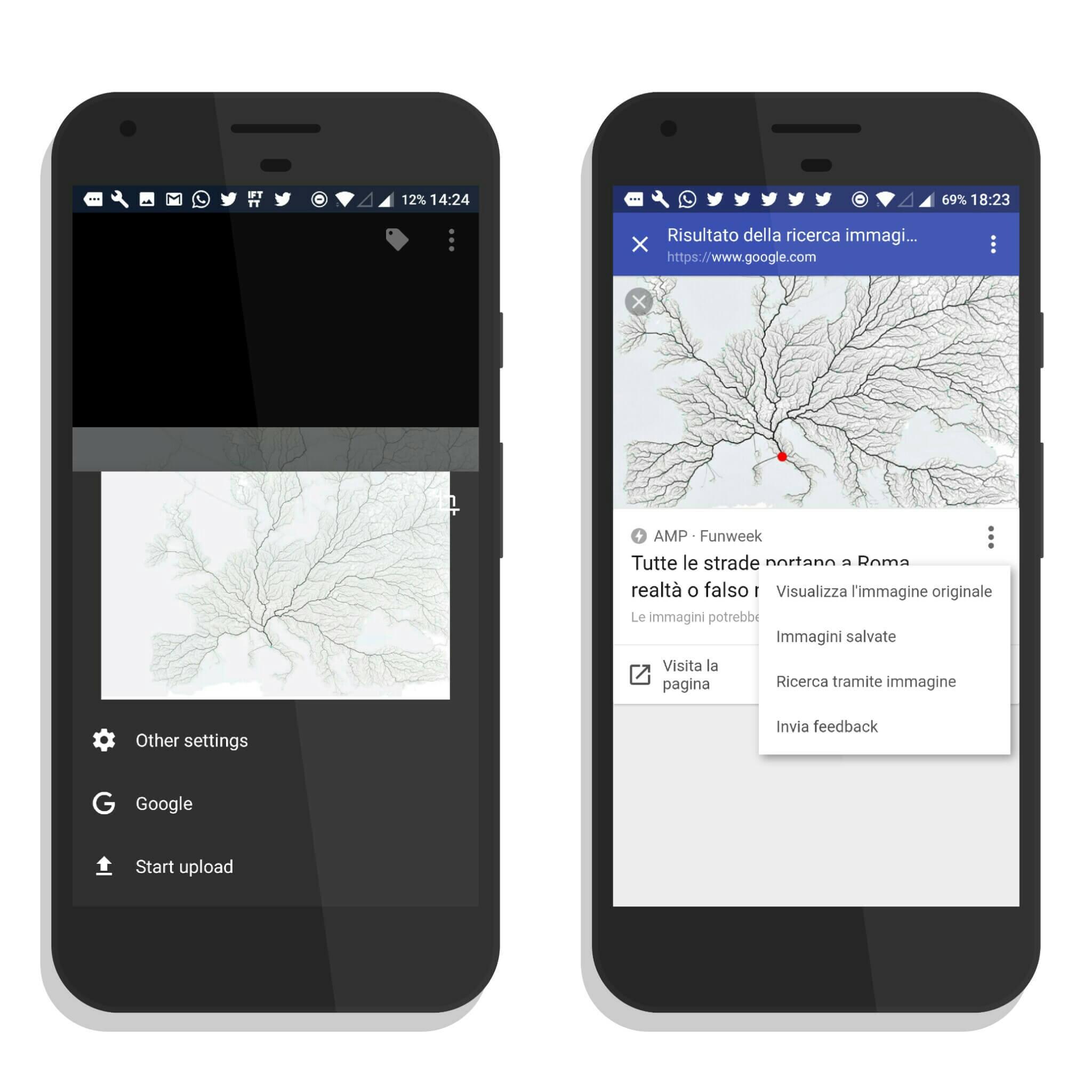 Come avere la ricerca per immagini di Google su Android - Le piccole ...