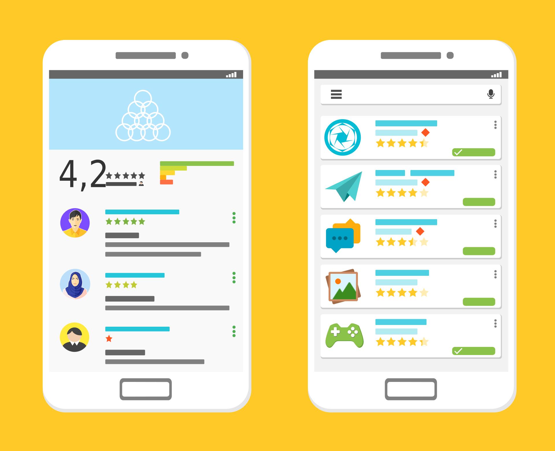 Le false recensioni gonfiano la valutazione di Facebook, Messenger, Skype, Instagram e WhatsApp (il cui nuovo Stato non piace)
