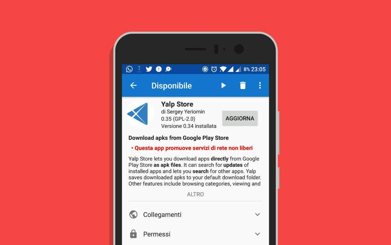 Come scaricare app Android senza Google Play (o limitate