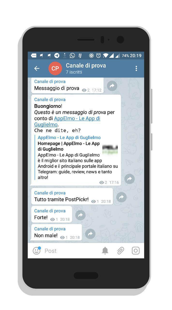 PostPickr torna alla guida dei social tool per Telegram con la
