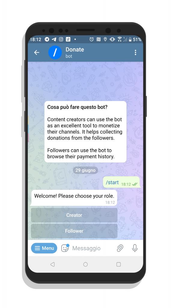 FELIX GUADAGNARE SOLDI ONLINE – Telegram